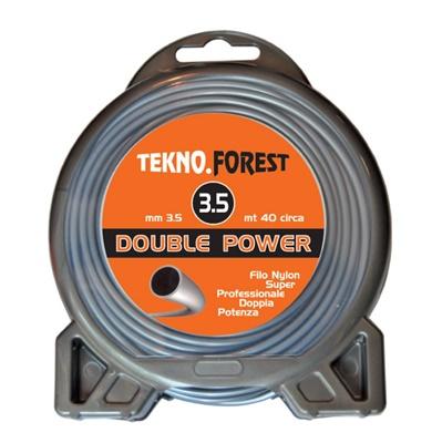 FILO DOUBLE POWER TONDO 40 METRI - 3,5 MM