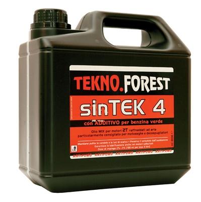 OLIO MISCELA SEMI-SINTETICO TEKNO.FOREST - 4 LITRI
