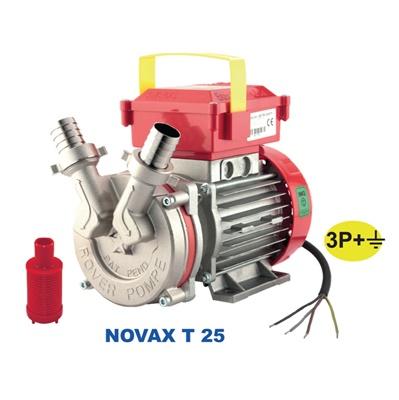 *** NOVAX 25 T - 0,80 HP - TRIFASE
