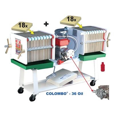 FILTRO PRESSA COLOMBO 36 OIL